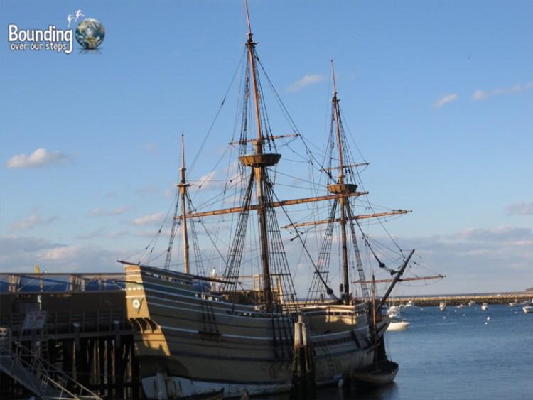 Pilgrim Rock - Mayflower II