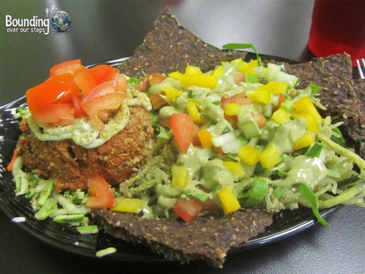 Rawk Star Vegan Restaurant - Chili and Rawghetti