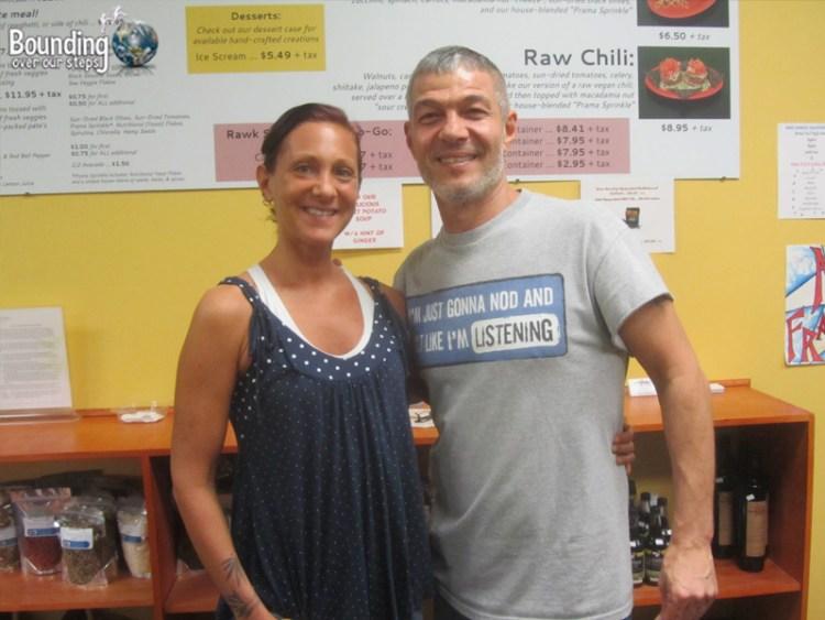 Rawk Star Vegan Restaurant - Owners