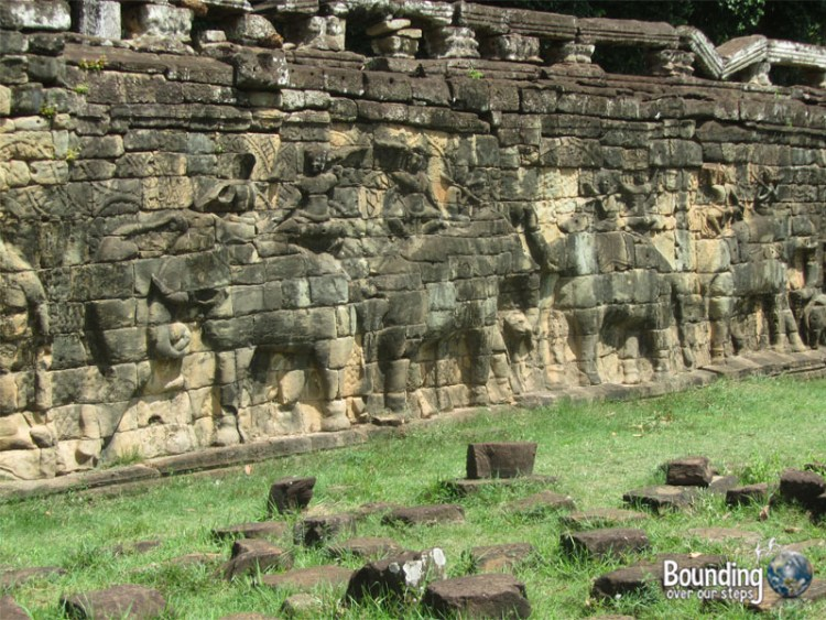 Surin Project - Angkor Wat Elephant Wall