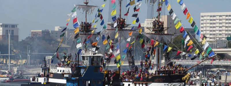 Gasparilla Pirate Festival - Tampa Bay - Featured