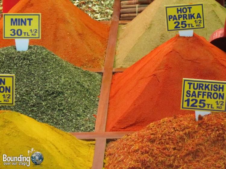 Vegan Friendly Countries - Turkey - Spice Market