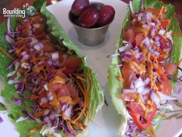 Leafy Greens Cafe - Raw Vegan - Tacos