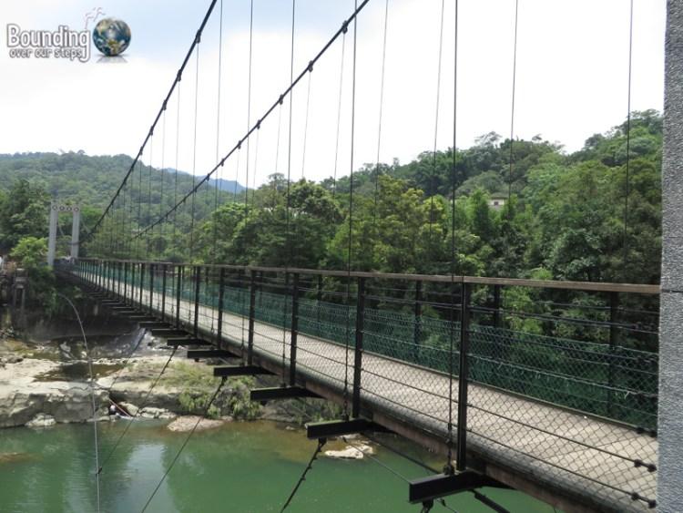 Finding Shifen Falls - Taiwan - Suspension Bridge