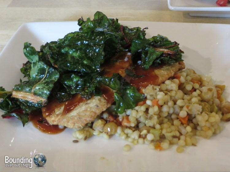 Meze Vegetarian Restaurant - BBQ Chikn