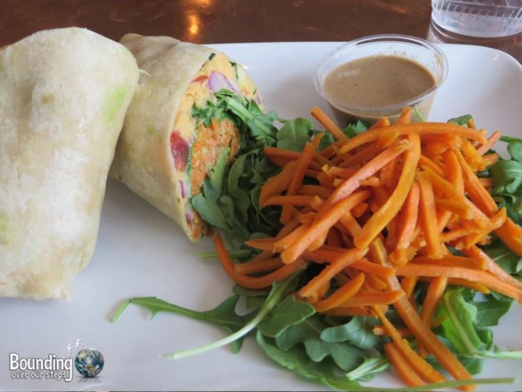 Root Vegan Restaurant - LA Wrap