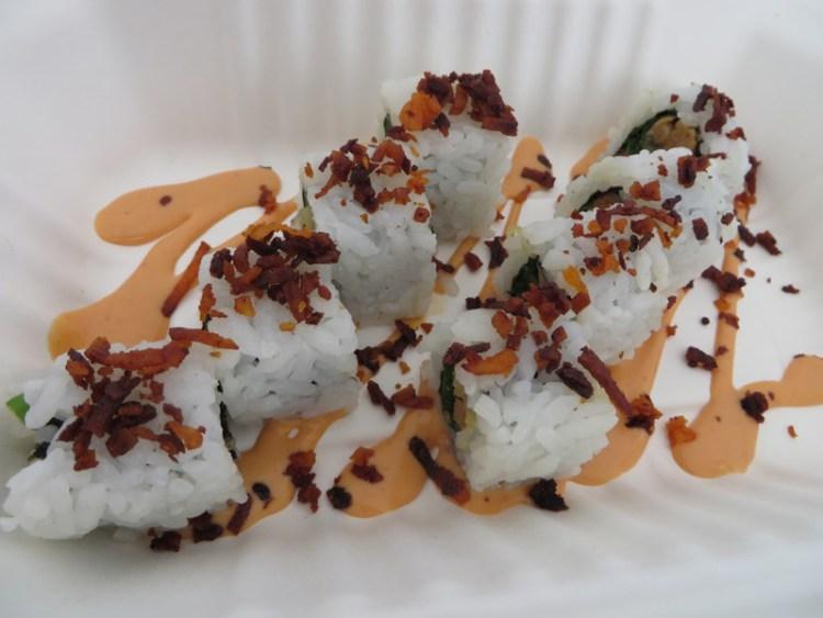 Sushi Love Vegan - Tiki Torch Roll