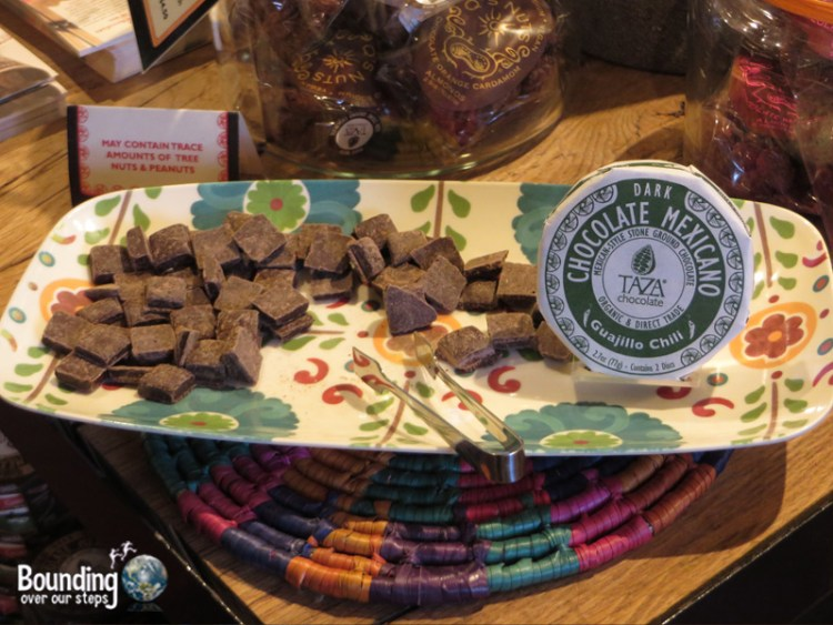 Taza Chocolate Factory Tour - Samples
