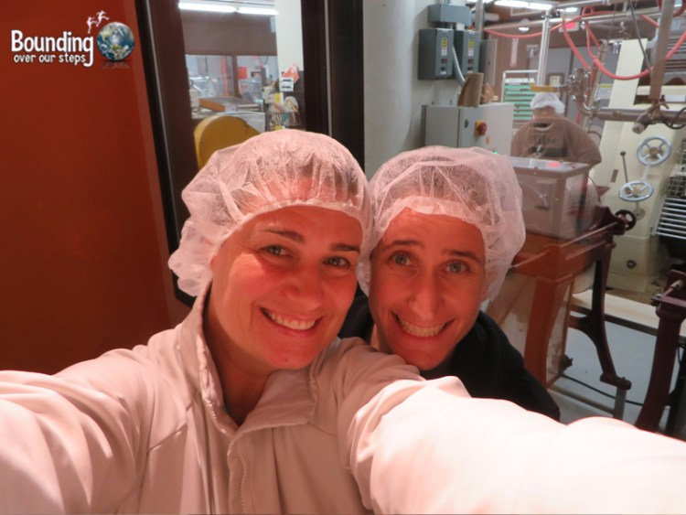 Taza Chocolate Factory Tour - Selfie