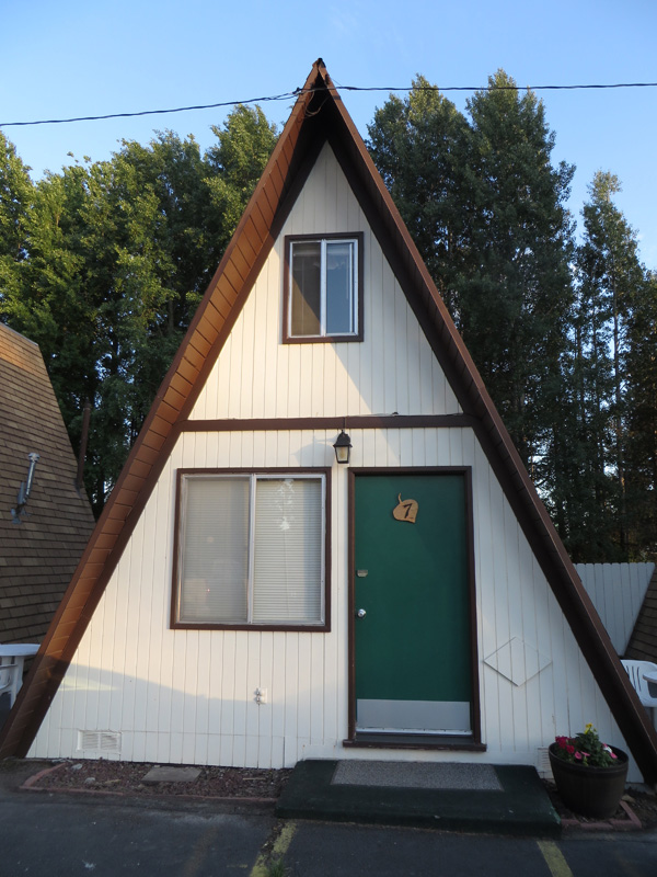 A-frame cabin at The Aspen Inn