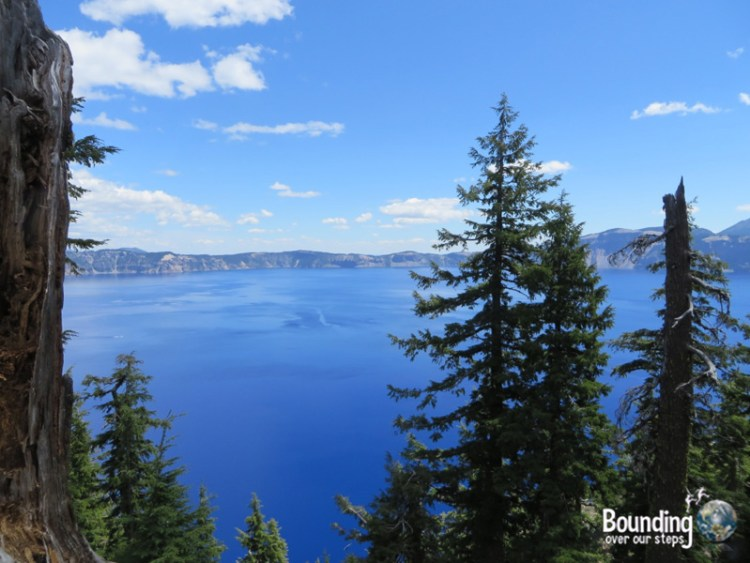 Pic 1 - Our first view of Crater Lake
