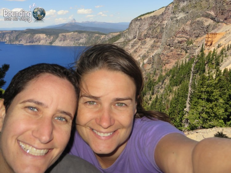Pic 12 - Crater Lake - Selfie at Pumice Castle Overlook