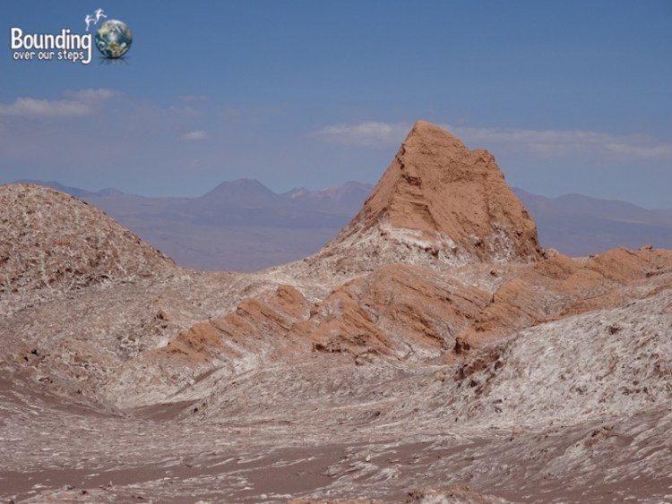 Atacama Desert - Valle de la Luna - View from Amphitheater