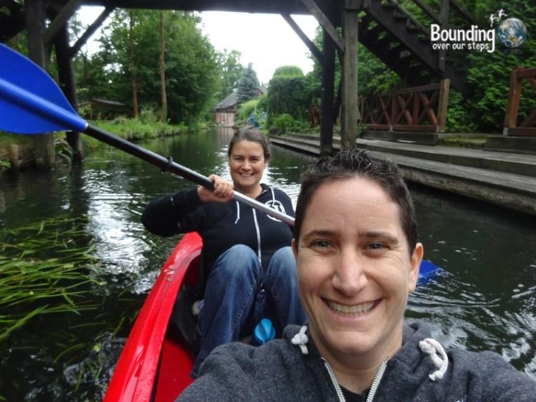 Things to do in Berlin - Spreewald - Kayak Selfie