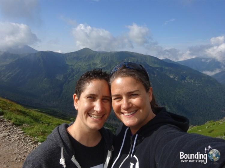 Zakopane - Polish Alps - Selfie