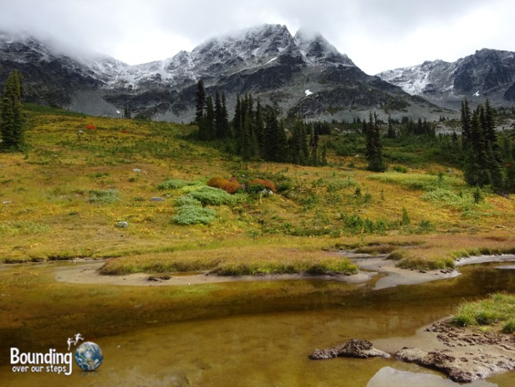 Hiking in Whistler - Blackcomb Mountain Valley Pond