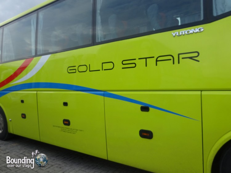 Travel from Manila to Puerto Galera - Gold Star Bus