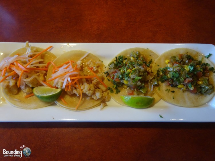 Vegan in Northern New Mexico - Harvest Cafe - Street Tacos