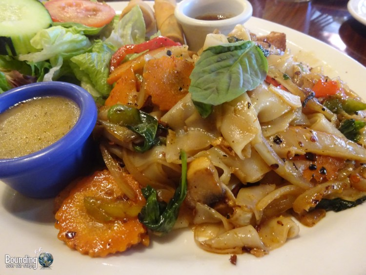 Vegan in Northern New Mexico - Vegan Thai - Spicy Noodles