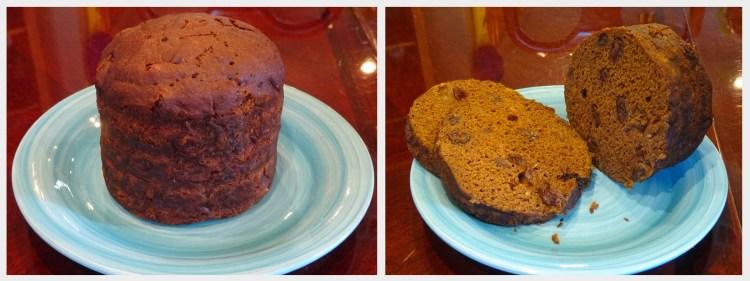 Grammie in Maine - Vegan Brown Bread - Collage