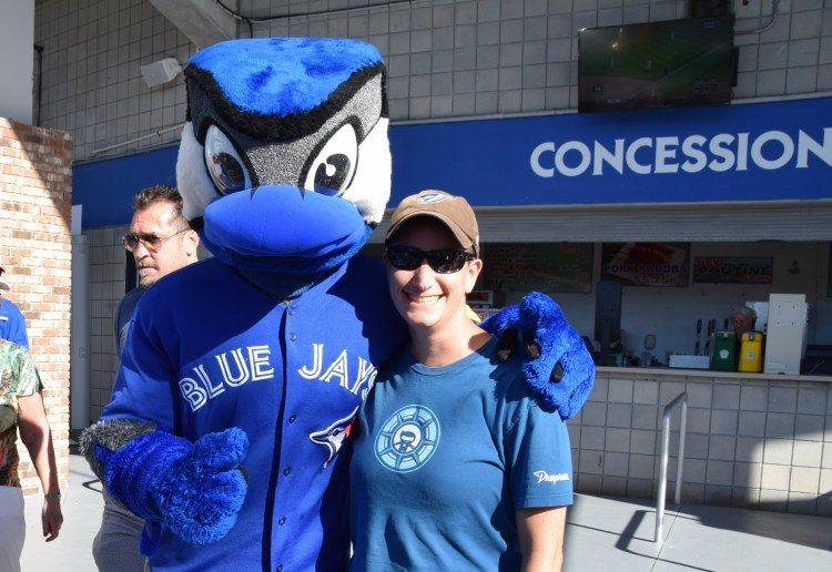 Lesbian Things to do in Dunedin - Spring Training Blue Jays Game
