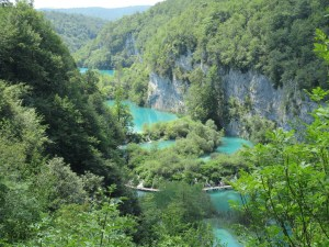 Vegan in Croatia - Plitvice Lakes National Park - Stepped Lakes