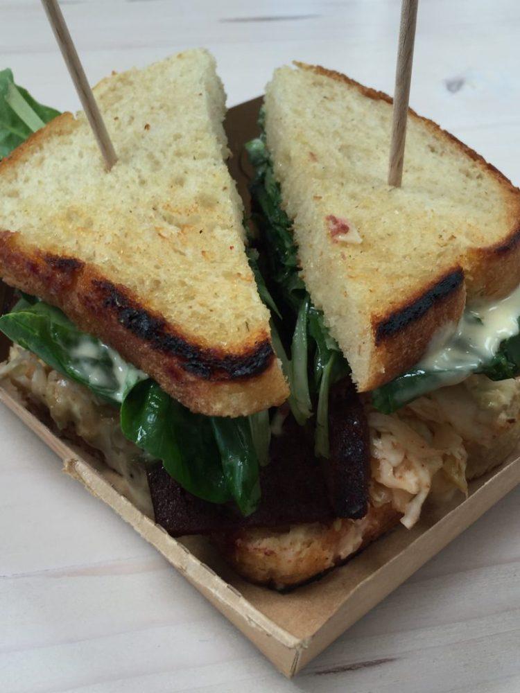 Vegan in Slovenia - Kucha - Sandwich