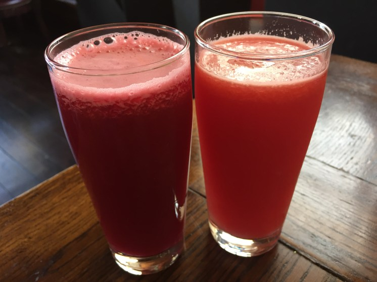Vegan in Slovenia - Public Bar and Vegan Kitchen - Juices