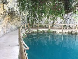 Vegan in Croatia - Plitvice Lakes National Park - Aqua Pool