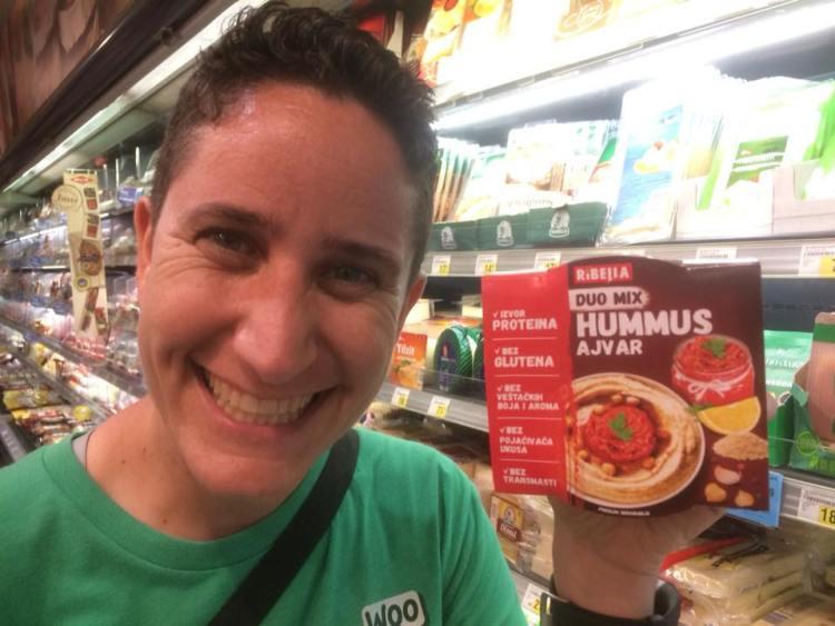Vegan in Croatia - Ajvar Hummus