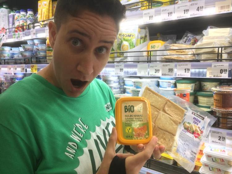 Vegan in Slovenia - Mercator Supermarket