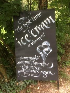 Vegan in Slovenia - Skocjan Caves - Vegan Ice Cream Flavors