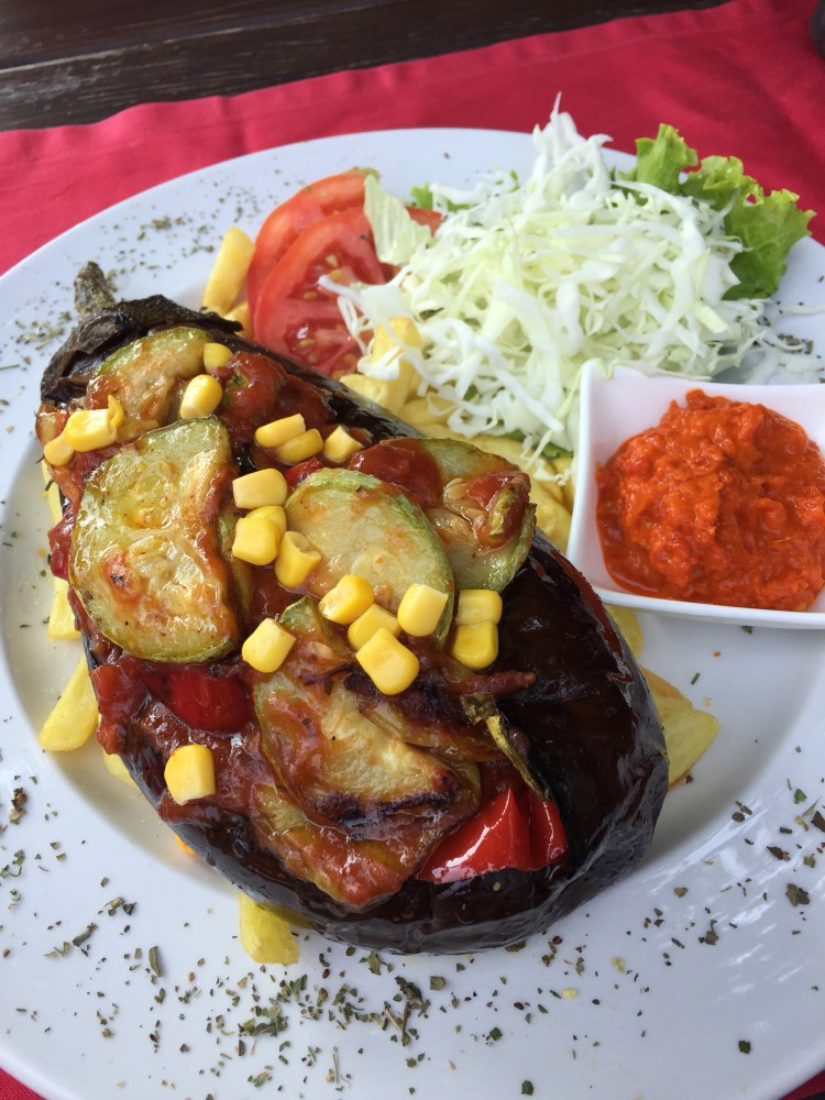 Being Vegan in Bosnia and Herzegovina - Imam Bayildi - Traditional stuffed eggplant dish