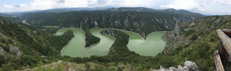 Uvac River Hike - Panorama from the Molitva Viewpoint
