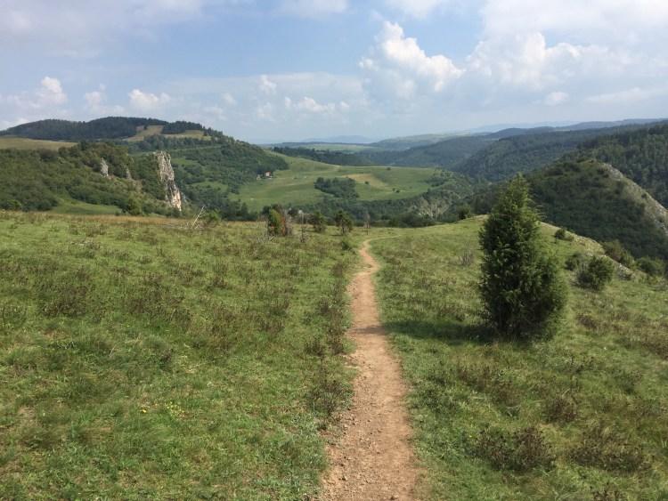 Uvac River Hike - Trail through gorgeous scenery