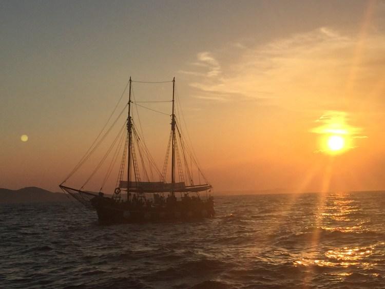 Sea Organ in Zadar - Croatia - Tall Ship