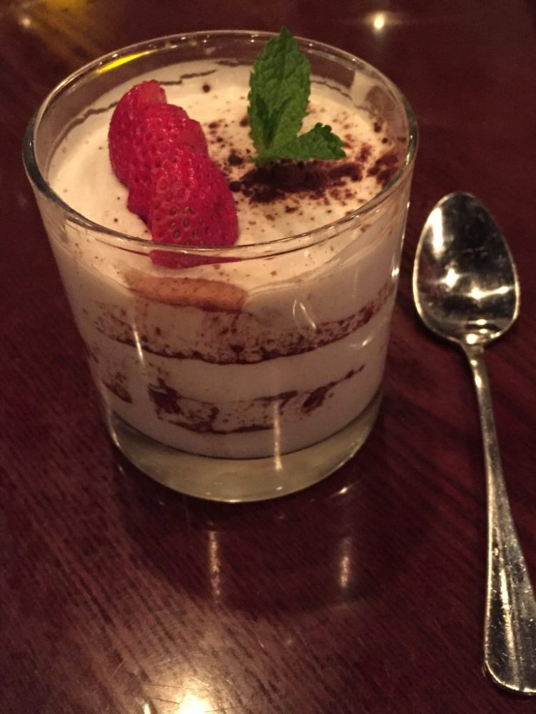 Our Vegan Weekend in NYC - Tiramisu from Blossom