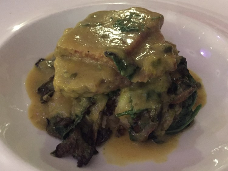 Our Vegan Weekend in NYC - Seitan Piccata from Candle Cafe