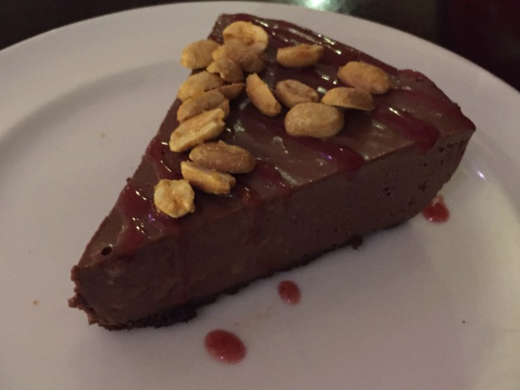 Our Vegan Weekend in NYC - Chocolate Mousse Pie from Candle Cafe