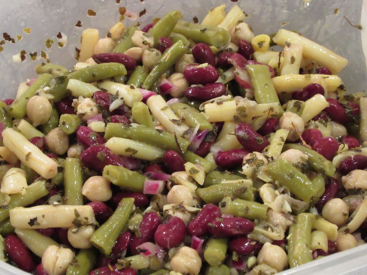 Vegan Thanksgiving Recipes - Bean Salad