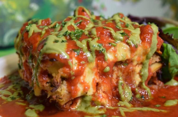 Vegan Pesto Lasagna from Simply Pure