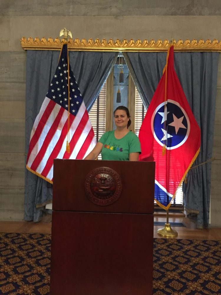 Vegan in Nashville - Ligeia at Tennessee's capitol building