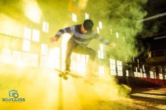 Payo Blanco Skateboarding