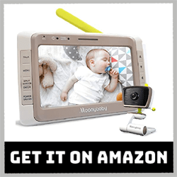 MoonyBaby 55935 BV-2T Baby Monitor