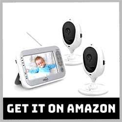LBtech Video Baby Monitor with Two Cameras