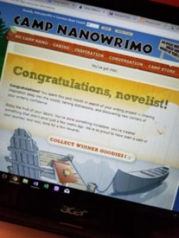 Camp NaNo Winner 2017