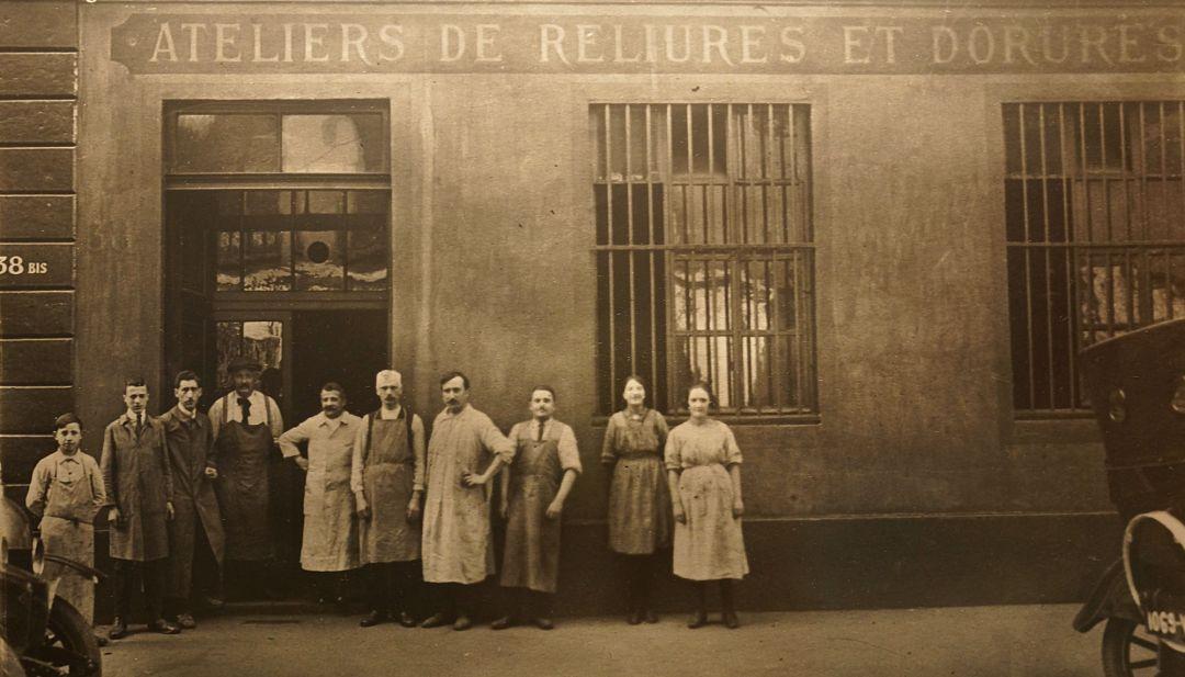 Atelier dorure 1866 Bouquet Crozat