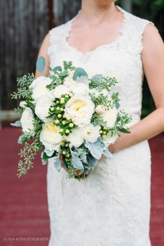 textured bridal hypericum dusty miller seeded eucalyptus