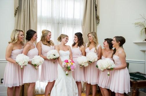 Adorable wedding party.