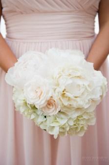 Soft, neutral pastel bridesmaid.